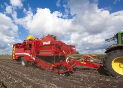 Grimme upgrades for harvesters