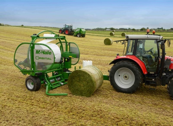 Different size bales not a problem for Orbital