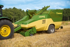 Agritechnica Preview: Krone straw pelleting machine