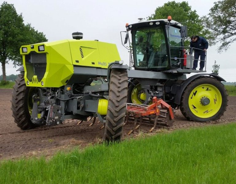Dutch test diesel-electric tractor