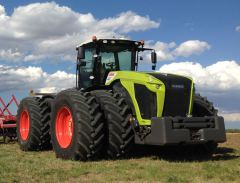 Claas tractor agreement in North America