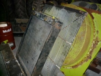 Pièces d'occasion pour ensileuses Claas Radiateur / Radiator / Water cooler