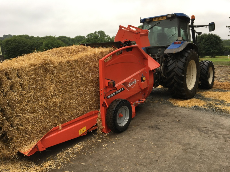 Kuhn comes with semi-mounted Primor