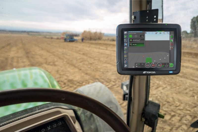 Entry-level Topcon control console from LH Agro