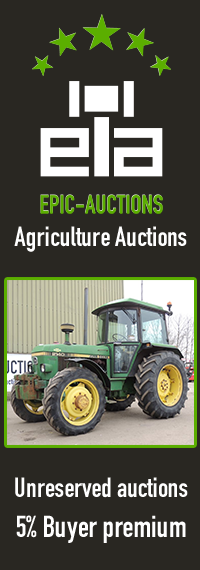 Epic Auctions - Your address for Agricultural Machinery and Earth Moving Equipment !