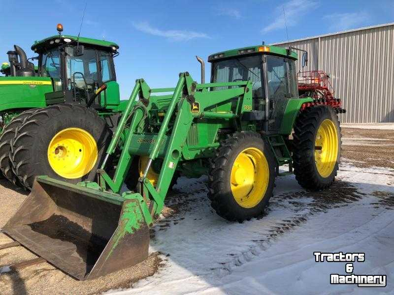 John Deere 740 Tractor : John deere pq wd loader tractor mn usa d