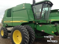 Moissonneuse batteuse John Deere 9550 4WD WALKER LEVEL LAND COMBINE USA