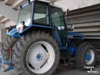 Tracteurs Ford 7740 MFWD SYNCHRO TRACTOR CO USA