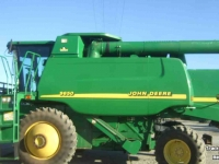 Moissonneuse batteuse John Deere 9650W 2WD LEVEL LAND COMBINE IL USA
