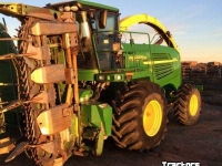 Ensileuse automotrice John Deere 7800 2WD SP FORAGE HARVESTER + KRONE EASY COLLECT 6000 CO USA