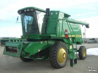 Moissonneuse batteuse John Deere 9550 2WD CORN BEAN GREENSTAR COMBINE USA