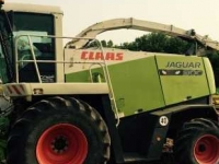 Ensileuse automotrice Claas 900 JAGUAR GREEN EYE SPFH MN USA