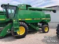 Moissonneuse batteuse John Deere 9500 2WD 3 SPEED LEVEL LAND COMBINES ONTARIO